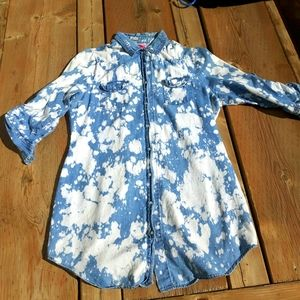 Pearl Snap Button Up Cowgirl Shirt